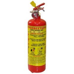 Πυροσβεστήρας PA 1kg  5A,34B,C