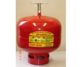 Πυροσβεστήρας PA 12KG οροφής